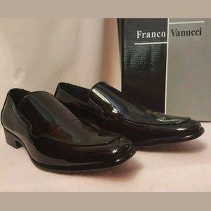 Mens Franco Vanucci Tuxedo Shoes Size 10