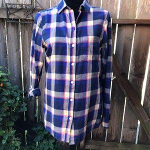 NWT Old Navy Classic Shirt Button Down Plaid