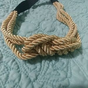 Other - Gold coiled headband