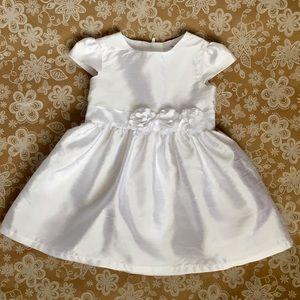 """Carter's White formal """"Christening-type"""" dress"""