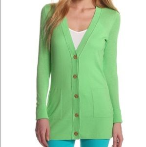 Lilly Pulitzer Cardigan in Green