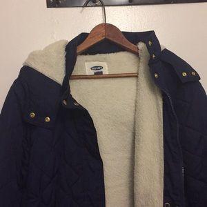 Old navy sherpa jacket