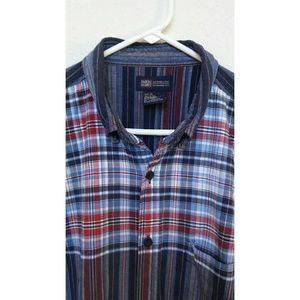 Faded Glory Shortsleeve Button Down