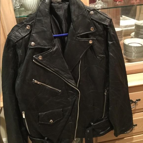 Jackets Coats Flight Path Mens Leather Motorcycle Jacket Poshmark