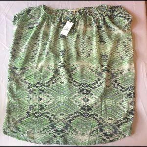 NEW green Cabi shirt blouse size Medium