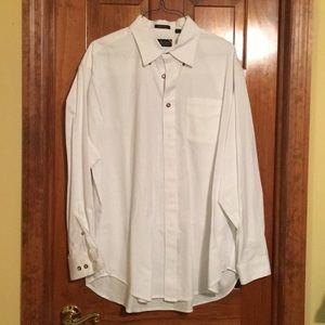 NEW FA MacCluer white dress shirt