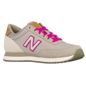 New Balance 501 Suede with Pink - Size 7