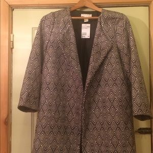 H&M Open Front Coat