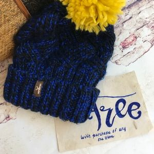 FREE With Purchase. Royal Blue Toasty Hat