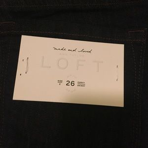 Ann Taylor LOFT Skinny Jeans, NWT
