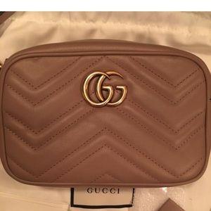 Gucci Marmont GG Mini Camera Bag