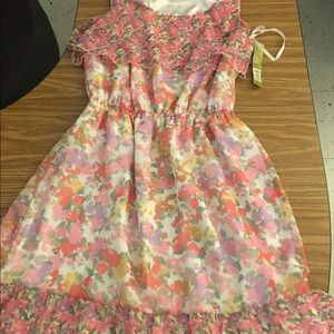 New with tag Gianni bini medium floral dress