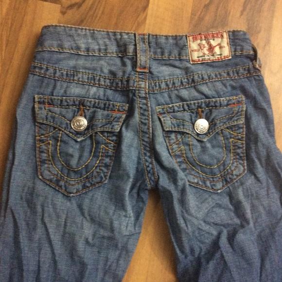 True Religion Denim - True Religion Size 25 Flare Blue Jeans