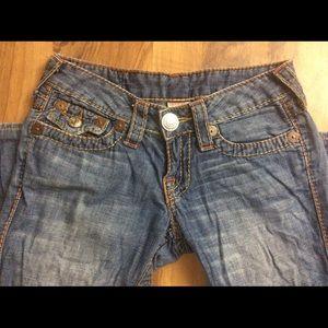 True Religion Jeans - True Religion Size 25 Flare Blue Jeans