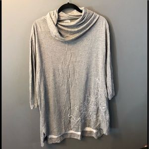 Zenergy By Chico's Hooded Tunic