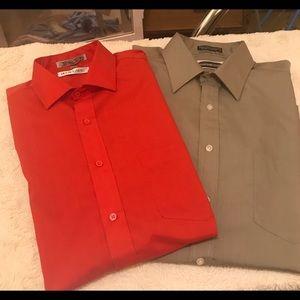 Vintage button down shirts.