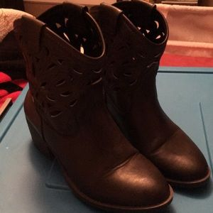 Arizona jeans company dark brown bootie