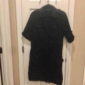 NYCO Khaki shirt dress