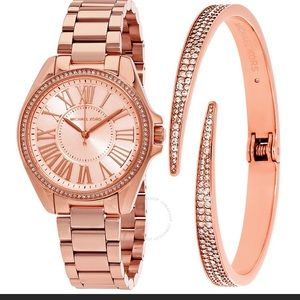 Brand New w/ Tags Rose Gold Watch and Bracelet