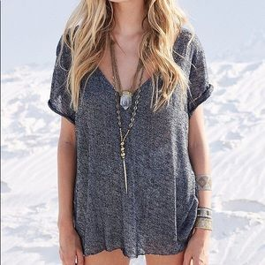 Urban Outfitters Project Social V-Neck Tee