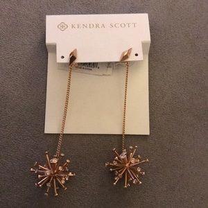 Kendra Scott Tricia Earrings in Rose Gold