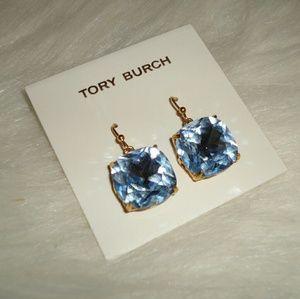 Tory Burch crystal dangling earrings