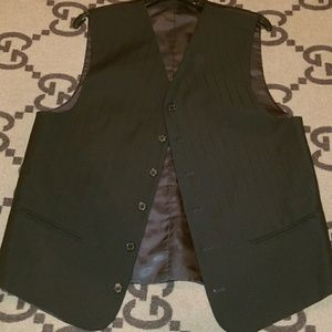 Other - Black dressy vest