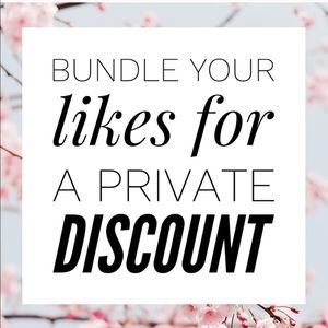 BUNDLE YOUR LIKES! PRIVATE DISCOUNT