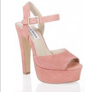 Blush Pink Steve Madden Dynemite Heels