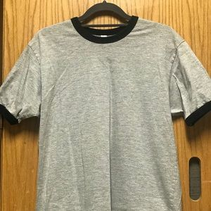 Short sleeve ringer t-shirt