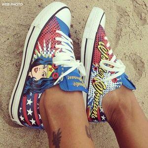 CONVERSE All Star Wonder Woman Low Top Sneaker