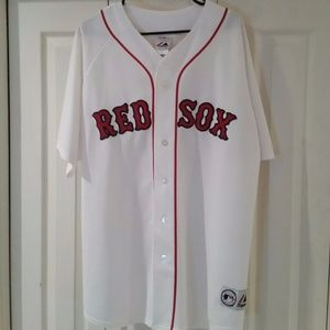 DAVID ORTIZ Boston Red Sox HOME JERSEY - SEWN
