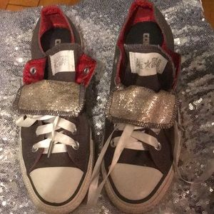 Converse All Star sneakers.