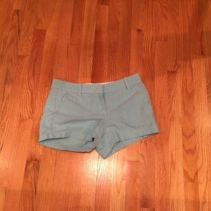 J. Crew Light Blue Shorts, size 4