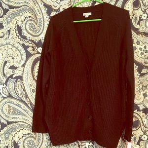 Merona NWT Black Knit Button Down Cardigan
