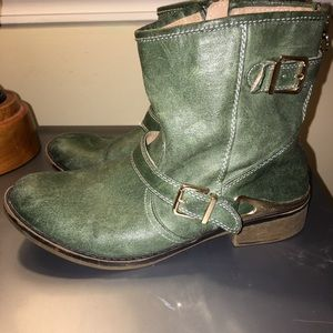 Teal green mossimo supply co boots