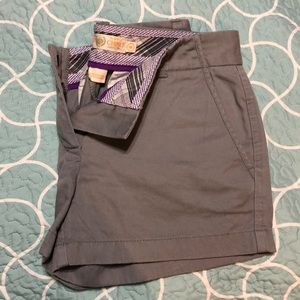 J. crew chino grey shorts