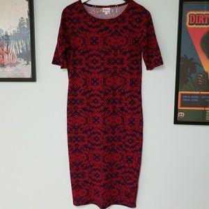 Lularoe patterned Julia dress