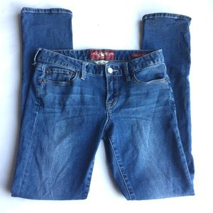 Lucky Brand Lola Straight Ankle Jeans Size 2 26