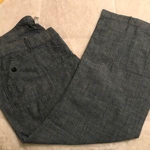 Dark Chambray Old Navy pants