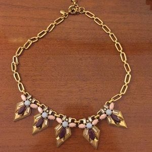 J. Crew statement gold necklace