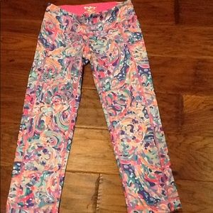 Lilly Pulitzer Luxletic weekender cropped leggings