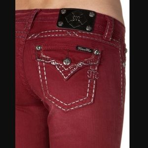 Miss Me Cabernet Skinny Jeans