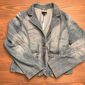 Denim blazer H&M