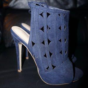 """""""Rachel"""" Lace Up Heels by Shoedazzle"""
