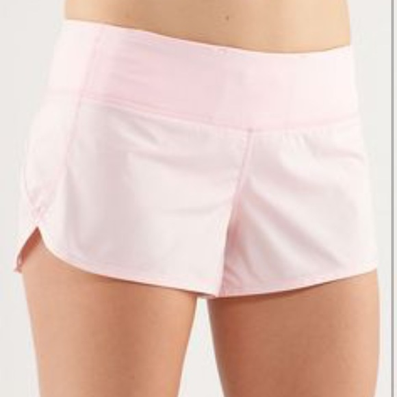 Lululemon Athletica Shorts Like New Sparkle Light Pink Lululemon Poshmark