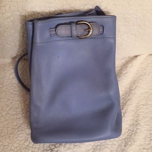 Small backpack coach bag.