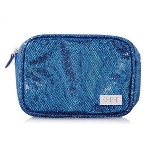 NWT! OPI Cobalt Blue Glitter Nail Case