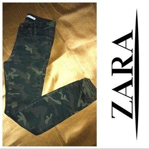 ZARA Camo Skinny pants