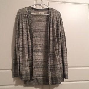 Grey Tri blend cardigan